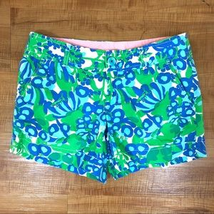 Lilly Pulitzer Callahan Bee in Your Bonnet Shorts